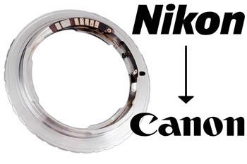 Nikon to Canon - поменять систему